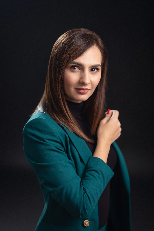 Fotografie portret in studio